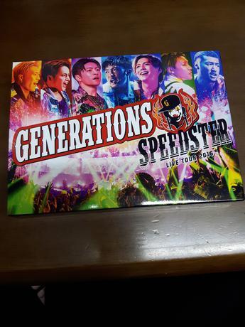 GENERATION SPEEDSTER LIVETOUR2016 ライブグッズの画像