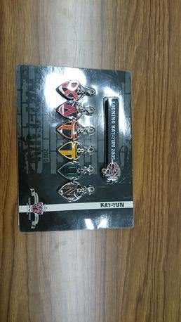 KAT-TUN●ストラップ●LOOKING KAT-TUN●2005年 コンサートグッズの画像