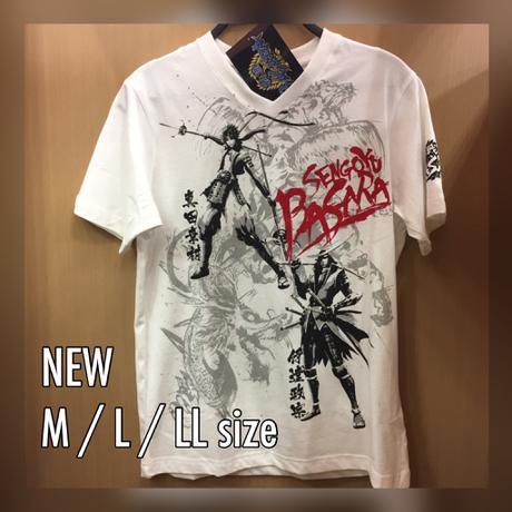 新品 戦国BASARA Vネック Tシャツ グッズの画像