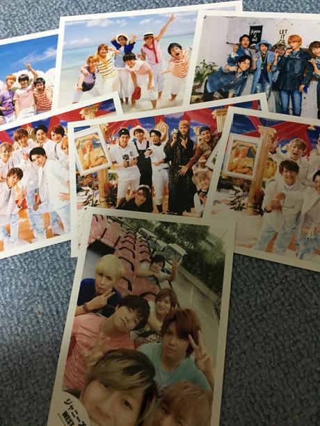 ジャニーズWEST 集合 公式生写真 コンサートグッズの画像