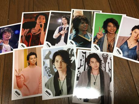松本潤 公式生写真 コンサートグッズの画像