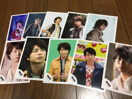 櫻井翔 公式生写真 コンサートグッズの画像
