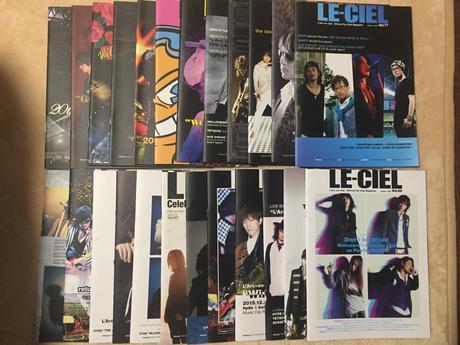 L'Arc-en-Ciel☆会報66〜89 ライブグッズの画像