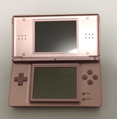 【DS Lite】Nintendo DS Lite (メタリックロゼ) グッズの画像