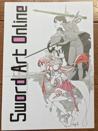 劇場版ソードアート・オンライン ポストカード グッズの画像