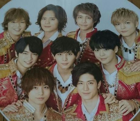 うちわ Hey! Say! JUMP カウコン コンサートグッズの画像
