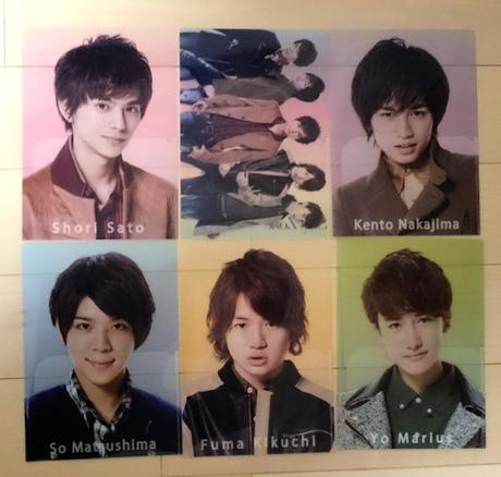 6枚セット☆Sexy Zone 3rd Anniversary クリアファイル コンサートグッズの画像