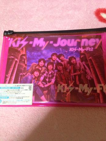 Kis-My-journey.初回A コンサートグッズの画像