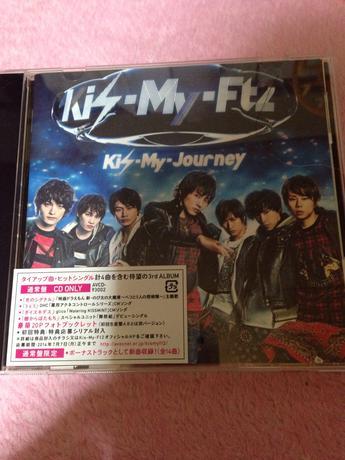 Kis-My-journey.通常盤 コンサートグッズの画像