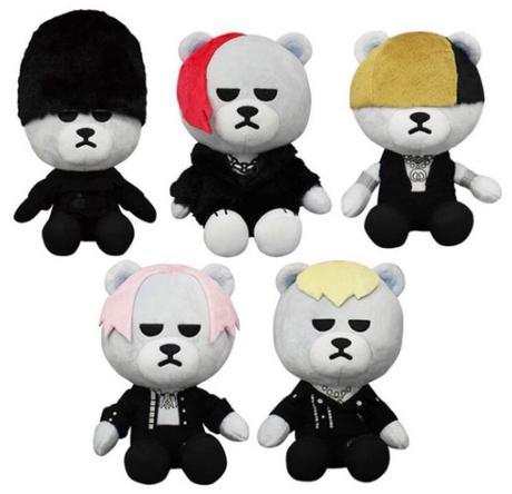 BIGBANG おすわりぬいぐるみ セット ライブグッズの画像