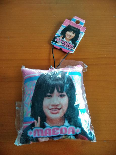 AKB48前田敦子ミニクッションホルダー送料無料 ライブ・総選挙グッズの画像