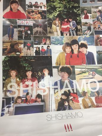 SHISHAMO2 発売記念ポスター ライブグッズの画像