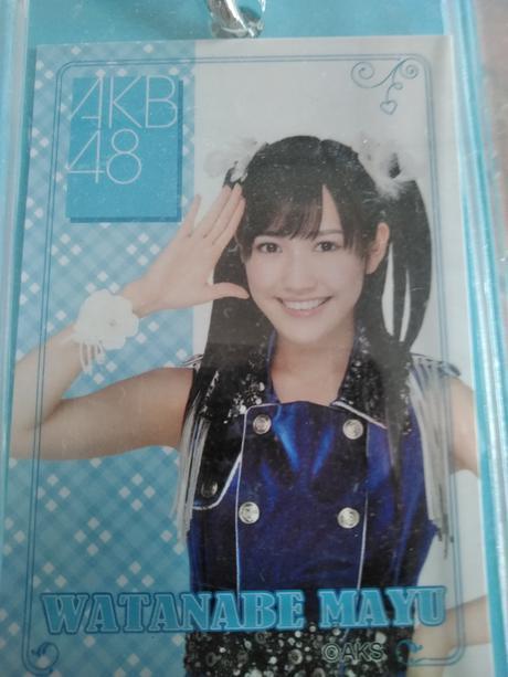 AKB48まゆゆアクリルパスケース送料無料 ライブ・総選挙グッズの画像