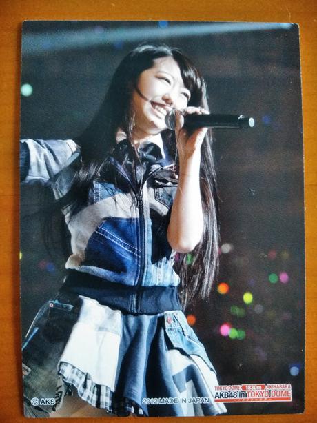 AKB48カード峯岸みなみドーム送料無料 ライブ・総選挙グッズの画像