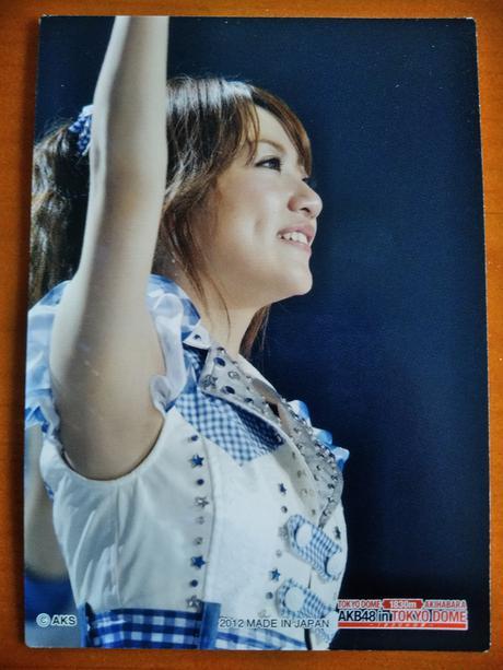 AKB48高橋みなみカード東京ドーム送料無料 ライブ・総選挙グッズの画像