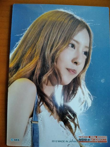 AKB48カード板野友美ドーム送料無料 ライブ・総選挙グッズの画像