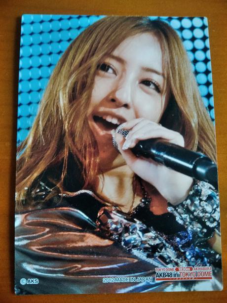 AKB48カード板野友美ドームB送料無料 ライブ・総選挙グッズの画像
