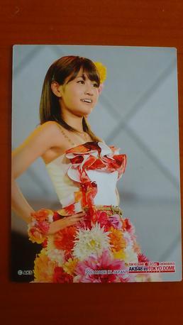 AKB48前田敦子トレーディングカードB送料無料 ライブ・総選挙グッズの画像