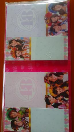 AKB48ふせん新品送料無料 ライブ・総選挙グッズの画像