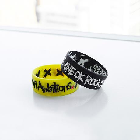 《 ONE OK ROCK 》ラババン シリコンバンド ライブグッズの画像