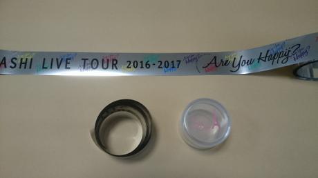 銀テープ (嵐) フル1本① コンサートグッズの画像