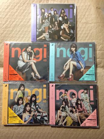 乃木坂46 インフルエンサー CD ABCD+通常盤+楽天限定ポストカード ライブ・握手会グッズの画像