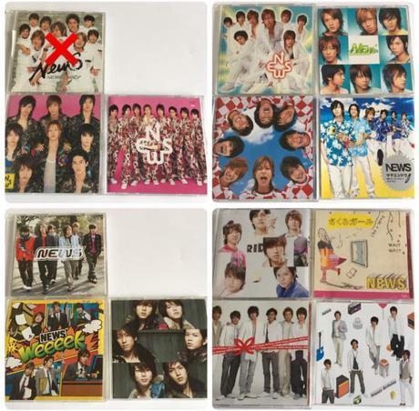 NEWS     CD    1枚200円+送料164円(クリックポスト) コンサートグッズの画像