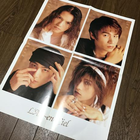 非売品 レア 23年前  L'Arc〜en〜Ciel ポスター ライブグッズの画像