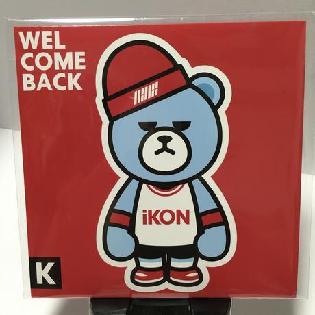 未開封iKON 日本デビューアルバム ライブグッズの画像