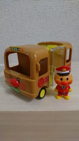 アンパンマン つながるバス グッズの画像