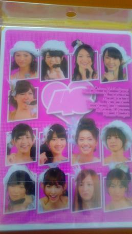 AKB48下敷き&メモ新品送料 ライブ・総選挙グッズの画像