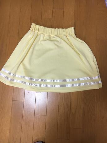 関ジャニ∞  ライブ用スカート  黄色 リサイタルグッズの画像