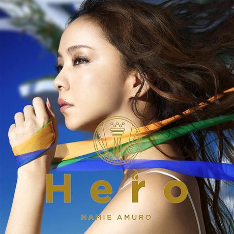 安室奈美恵CD&DVD特典 Heroポスター ライブグッズの画像