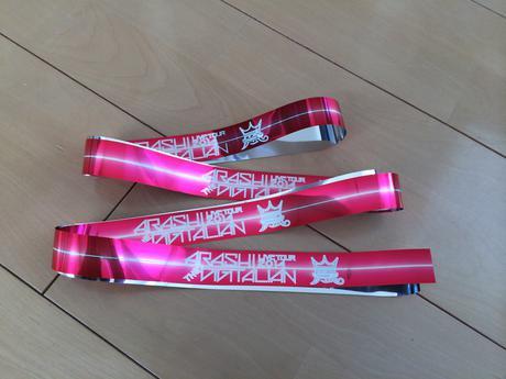 嵐 DIGITALIAN銀テープ 櫻井君 コンサートグッズの画像