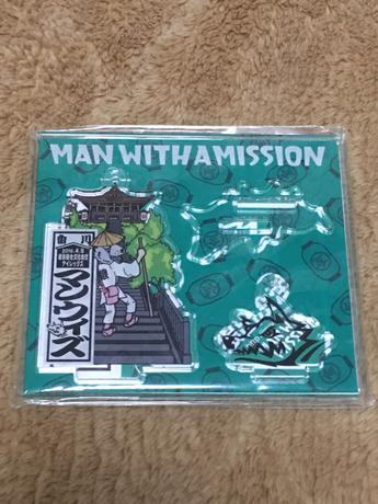 MAN WITH A MISSION ツアーグッズ アクリルプレート 香川ver ライブグッズの画像