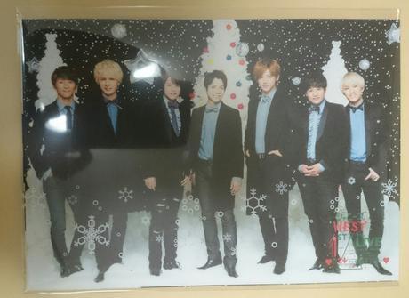 未開封 クリスマスカード (ジャニーズWEST) コンサートグッズの画像