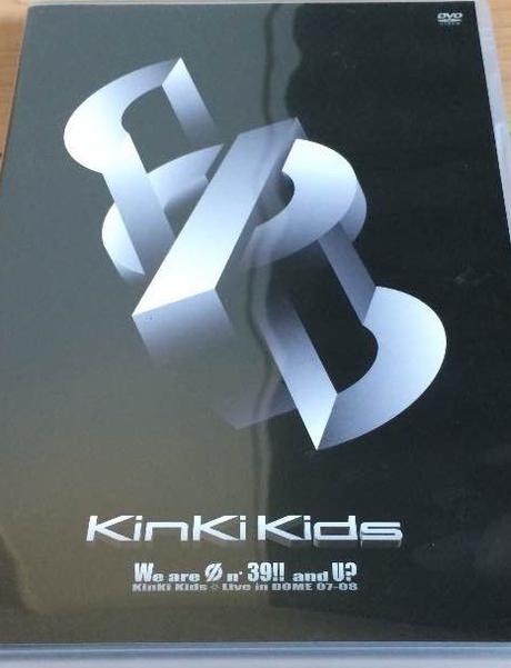 φ DVD 通常盤 KinKi Kids コンサートグッズの画像