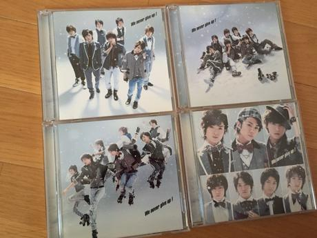 We never give up! キスマイ CD DVD コンサートグッズの画像