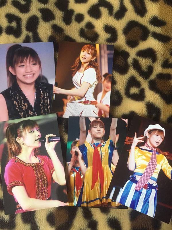 後藤真希 生写真5枚 コンサートグッズの画像