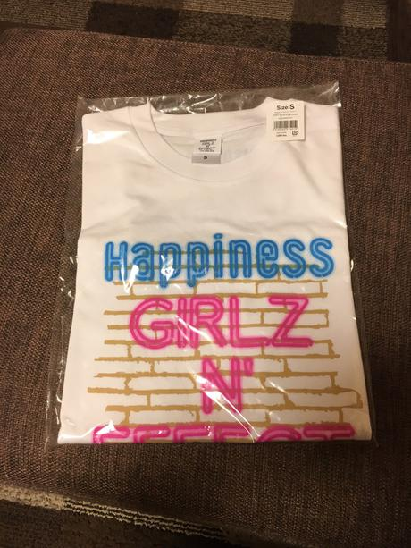 Happiness GIRLZN' EFFECT ツアーTシャツSサイズ
