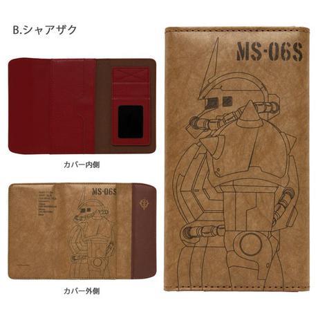 新品¥4298 ガンダム シャア専用 ザク スマホカバー グッズの画像