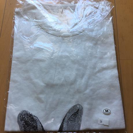 小沢健二 うさぎ Tシャツ オフホワイト メンズM ライブグッズの画像