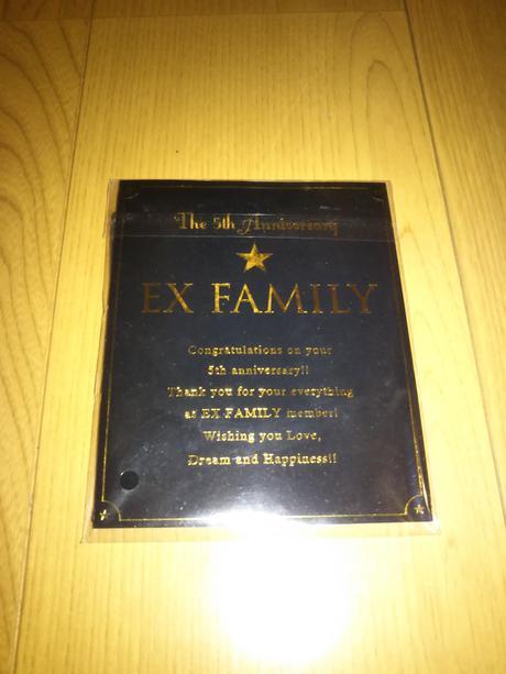 EX FAMILY FC5年継続特典