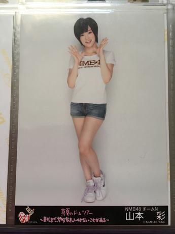 NMB48 真夏のドームツアー2013 会場限定 生写真 山本彩 ライブグッズの画像