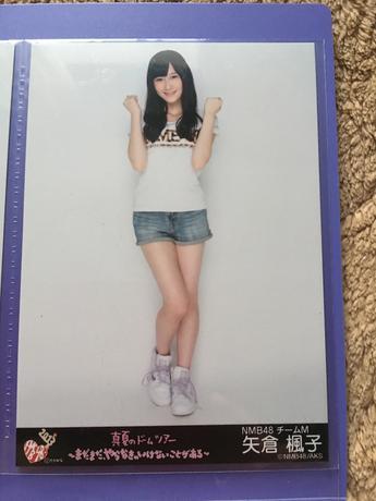 NMB48 真夏のドームツアー2013 会場限定 生写真 矢倉楓子 ライブグッズの画像