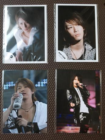 亀梨和也さん コンサート 写真 コンサートグッズの画像