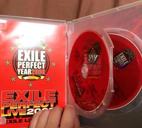EXILE DVD ライブグッズの画像