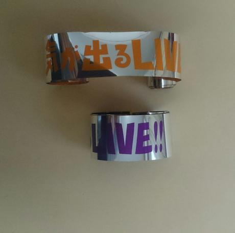 値下げ♪銀テープ 紫フル1本(元気が出るLIVE②) リサイタルグッズの画像