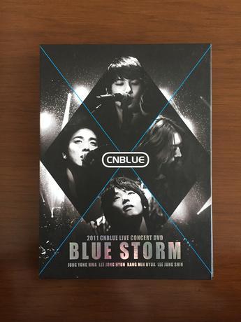 CNBLUE LiveConcert「BLUE STORM」(初回限定盤) ライブグッズの画像