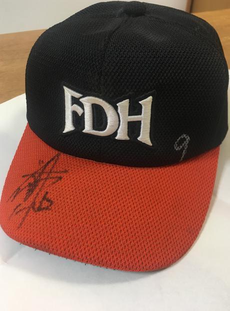 2003年ダイエーホークス川崎宗則選手の帽子 グッズの画像